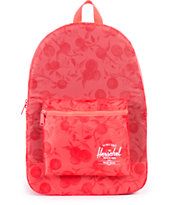 Herschel Supply Packable Daypack Red Orchard Backpack