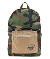 Herschel Supply Packable Daypack Woodland Camo & Khaki 21L Backpack
