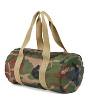 Herschel Supply Packable Woodland Camo & Khaki 22L Duffle Bag