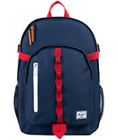 Herschel Supply Parkgate Navy & Red Backpack