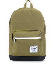 Herschel Supply Pop Quiz Army Green 20L Backpack
