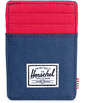 Herschel Supply Raven Cardholder Moneyclip Wallet