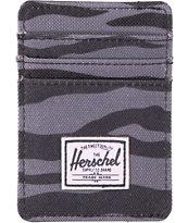 Herschel Supply Raven Zebra Cardholder Wallet