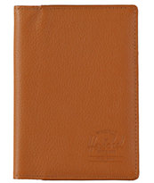 Herschel Supply Raynor Leather Passport Holder