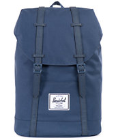 Herschel Supply Retreat Navy 22L Backpack