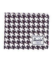 Herschel Supply Roy Houndstooth Bifold Wallet