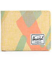 Herschel Supply Roy Natural Portal Bifold Wallet
