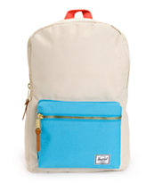 Herschel Supply Settlement Bone & Cyan 11L Backpack