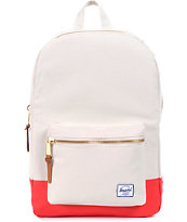 Herschel Supply Settlement Bone & Red 11L Backpack