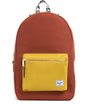 Herschel Supply Settlement Butternut & Rust Backpack