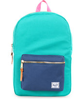 Herschel Supply Settlement Green & Navy 11L Mid-Volume Backpack