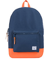 Herschel Supply Settlement Navy & Mandarin Backpack