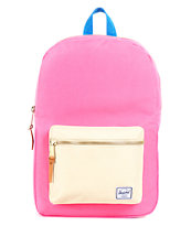Herschel Supply Settlement Pink & Khaki 11L Mid-Volume Backpack