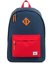 Herschel Supply Woodland Navy & Red Backpack