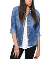 Highway Jeans Dark Wash Denim Top