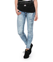 Highway Jeans Destructed Skinny Jeans