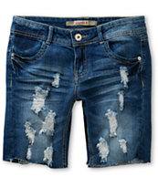 Highway Jeans Hilary Destructed Bermuda Shorts