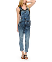 Highway Jeans Medium Wash Denim Overalls