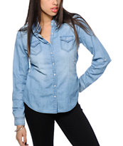 Highway Jeans Medium Wash Denim Top