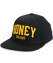 Honey Brand Co Team 8 Logo Snapback Hat