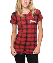 Honey Brand Co. Boogie Plaid Dye T-Shirt