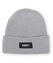 Honey Brand Co. Booshy Logo Beanie