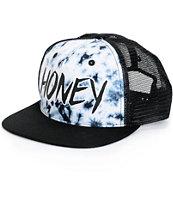 Honey Brand Co. Sunburst Crystal Trucker Hat
