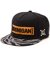 Hoonigan Gym 7 Censor Bar Logo Snapback Hat