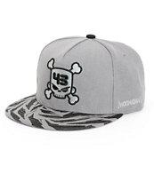 Hoonigan K.B. Huck Skull Snapback Hat