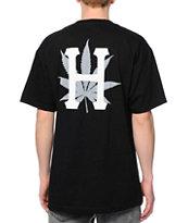 Huf H-Town Classic Black T-Shirt