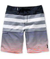 Hurley Echo Navy & Red 22 Board Shorts