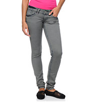 Hydraulic Indie Color Hatti Grey Jeggings