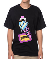 ICECREAM Cone Man Black Tee Shirt