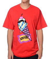 ICECREAM Cone Man Red Tee Shirt