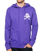 ICECREAM Death By Cones Purple Pullover Hoodie
