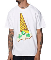 ICECREAM Dice White Tee Shirt