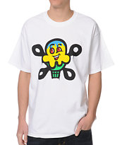 ICECREAM Drip White Tee Shirt
