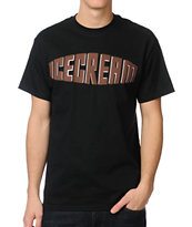 ICECREAM Sandwich Black Tee Shirt
