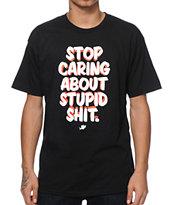 IDCA Stop Caring T-Shirt