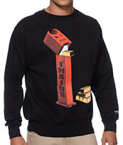 IMKing Bricks Black Crew Neck Sweatshirt