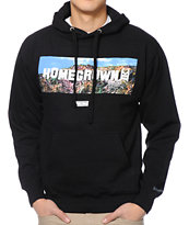 IMKing Hollyweed Black Pullover Hoodie