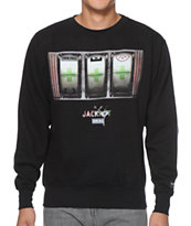 IMKing Jackpot Black Crew Neck Sweatshirt
