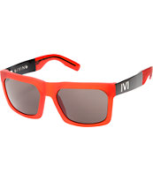 IVI Giving Frosted Matte Red & Grey Sunglasses