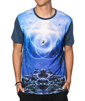 Imaginary Foundation Aquatic Symbol Sublimated Tee Shirt