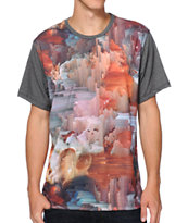Imaginary Foundation Datascape Panel Sublimated Tee Shirt