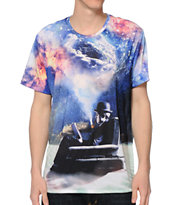 Imaginary Foundation Imagining Immensity Sublimated Tee Shirt