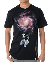 Imaginary Foundation Infinite Black Tee Shirt