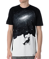 Imaginary Foundation Nostalgic Mood Black Tee Shirt