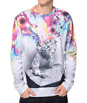 Imaginary Foundation Study Sublimated Crew Neck Sweatshirt