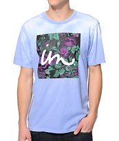 Imperial Motion 1X1 Floral Blue & White Color Change Tee Shirt